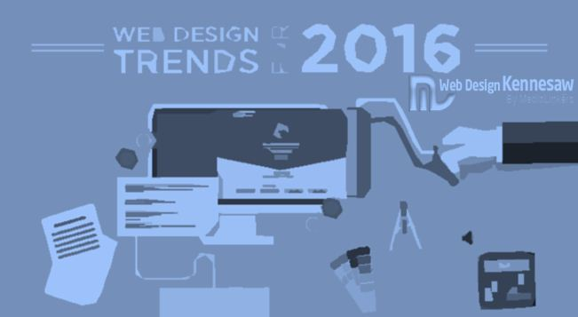 7 Web Design Trends to Follow in 2016
