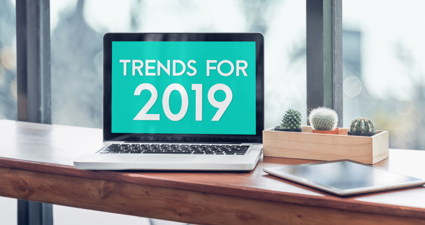 Top Ten Trends in Web Design for 2019