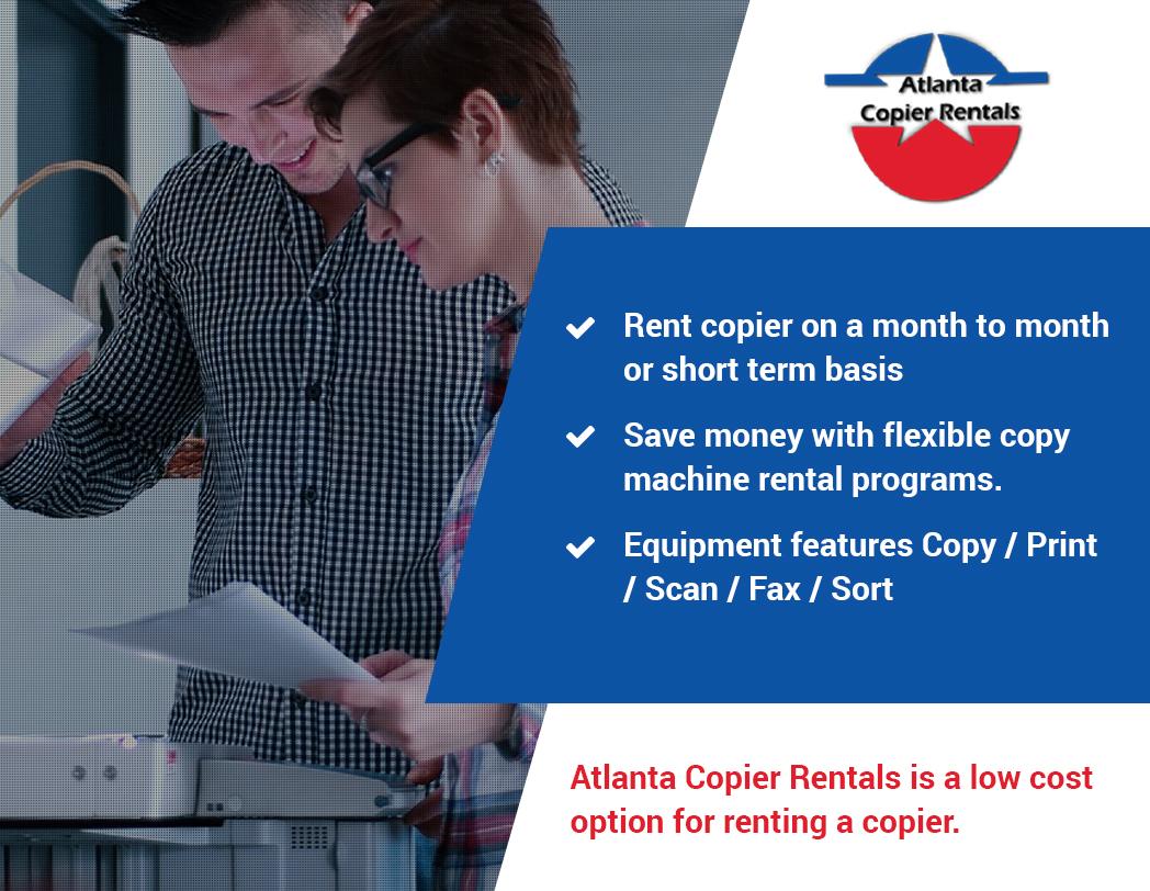 Atlanta Copier Rentals