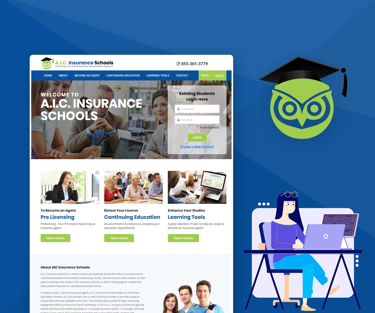 A.I.C. Insurance Schools